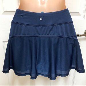 KYODAN Navy Tennis Athletic Skirt Skort XS 0 2